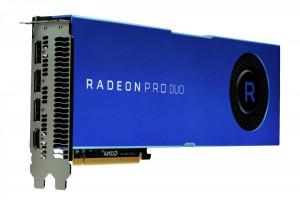 AMD Radeon Pro Duo - 32GB GDDR5 3-DP HDMI PCIe 3.0, Profesionální grafická karta