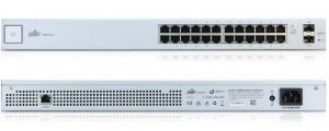 Ubiquiti UniFi 24-port Gigabit Ethernet Switch s SFP, no PoE