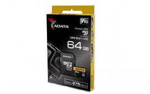 Adata microSDXC 64GB Class 10 read/write 275/155MBps