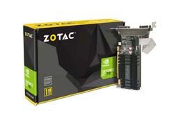 ZOTAC GeForce GT 710, 1GB DDR3