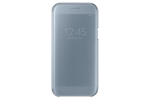 Samsung Clear View Cover Blue pro Galaxy A5 2017