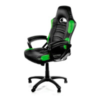 Arozzi Enzo Herní židle, černá/zelená