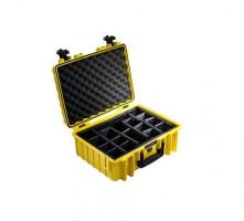 B&W International Type 5000 žlutá. vč. přihrádek