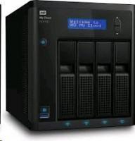 WD My Cloud EX4100, RAID, 24TB (4x6TB), 10/100/1000 Mb/s, black