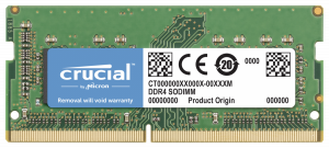 Crucial 16GB DDR4 2400 MT/s CL17 PC4-19200 SODIMM 260pin pro Mac