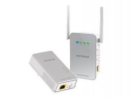 Netgear Powerline 1000Mbps AC650 1PT GbE Adapters Bundel + WiFi