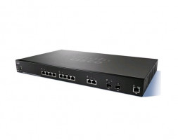 Cisco SG350-10 10-port Gigabit POE Managed Switch