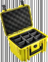 B&W International Type 2000 zluta vc. prihradek