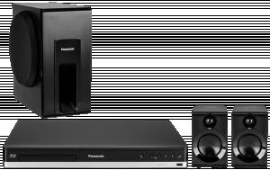 Panasonic SC-BTT105EG9 Domácí kino (černý)