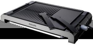 Stolní gril 2300 W, vysokoteplotní grilovací deska, grilovací desky s možností naklopení nebo uvedení do vodorovné poloh