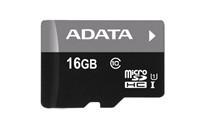ADATA Premier micro SDHC karta 16 GB UHS-I U1 Class 10 + adaptér SDHC