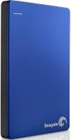 """Seagate Backup Plus - externí HDD 2.5"""" 1TB, USB 3.0, modrý, kovový, SW"""