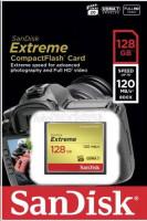SanDisk Extreme CF 128GB 120MB/s UDMA7 SDCFXSB-128G-G46
