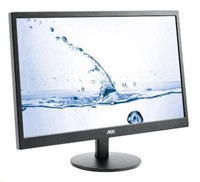 "AOC Monitor LED M2470SWH, 23.6"" MVA FHD, 1ms, D-Sub, 2xHDMI, Black"