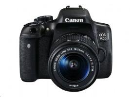 Canon EOS 750D + objektiv 18-55 IS STM (0592C022)