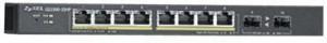 Zyxel GS1900-10HP 8-port GbE Smart Managed PoE Switch