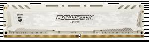 Ballistix Sport LT RAM DDR4 8 GB 2400 MT/s DIMM 288pin white SR