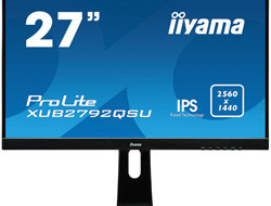 Monitor Iiyama XUB2792QSU-B1, 27inch, panel IPS, 2560x1440, DVI/HDMI/DP, hub USB