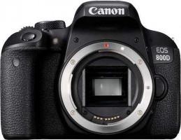 Canon EOS 800D Tělo fotoaparátu SLR 24.2MP CMOS 6000 x 4000px Černá