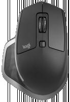 Logitech MX Master S2 bezdrátová myš, černá