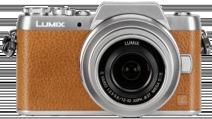 Panasonic Lumix DMC-GF7 hnědý/stříbrný