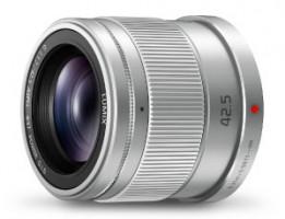 Panasonic Lumix G 42.5mm, stříbrná - Objektiv
