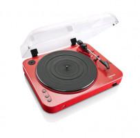 Lenco L-85 Gramofon, červená