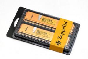 EVOLVE DDR III 8GB 1600MHz (KIT 2x4GB) Zeppelin GOLD (s chladičem,box),CL9 - testováno pro DualChannel