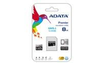 ADATA 8GB MicroSDHC Premier USH-I Class 10