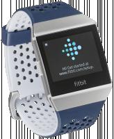 Fitbit Ionic Adidas Edice, modrý/šedý