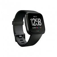 Chytré hodinky Fitbit Versa - Black, černá barva