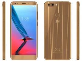 ZTE Blade V9 gold, zlatá barva, smartphone