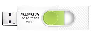 ADATA USB 3.1 Stick UV320 128GB bila/zelena