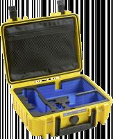 B&W Copter 1000 pro DJI Mavic Air Inlay Kufr, žlutý