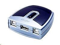 ATEN US-221 - USB periferní sharing switch - 2 x USB 2.0 - desktop