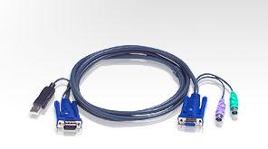 ATEN integrovaný kabel 2L-5502UP pro KVM USB 1,8m pro CS9138
