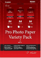 Canon fotopapír Pro Photo Variety Pack A4 (LU+PT+PM) 5+5+5