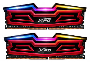 ADATA SPECTRIX D40 16GB DDR4 3200MHz / DIMM / CL16 / červená / KIT 2x 8GB