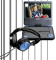 Lenco DVP-710 přenosný dvd přehravač černý