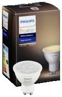 Philips LED GU10 DIM 5,5W (40W) žárovka bílá