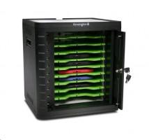 Kensington Univerzální skříňka pro nabíjení a synchronizaci tabletů, černá
