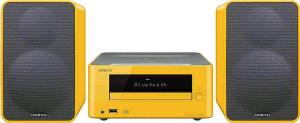 ONKYO CS-265 Mini systém žlutý