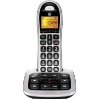 Motorola CD311 telefon stříbrno-černý