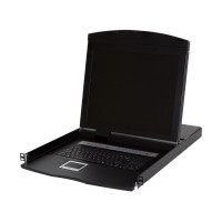 """START.LAN Console 19 """"LCD s 8-port KVM 16xPS2/8xUSB KVM, IP modul slot (STLCON1908)"""
