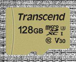 Transcend 128GB UHS-I U3 microSD s adaptér MLC paměťová karta