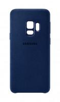 Samsung Zadní kryt - kůže Alcantara pro S9 Blue