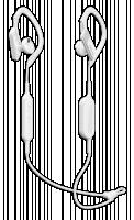 Panasonic RP-BTS10 Bílá Sluchátka