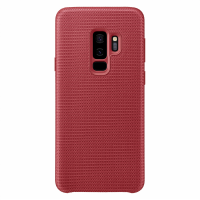 Samsung Látkový odlehčený zadní kryt pro S9+ Red