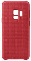 Samsung Látkový odlehčený zadní kryt pro S9 Red