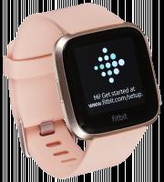 Fitbit Versa hodinky růžové